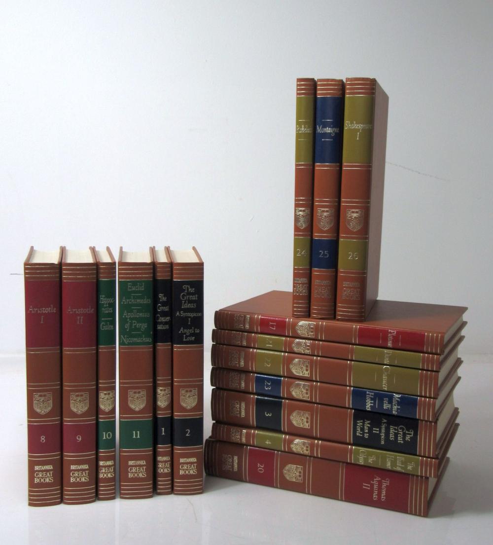 Maynard Hutchins, Robert, editor Britannica Great Books of the Western World