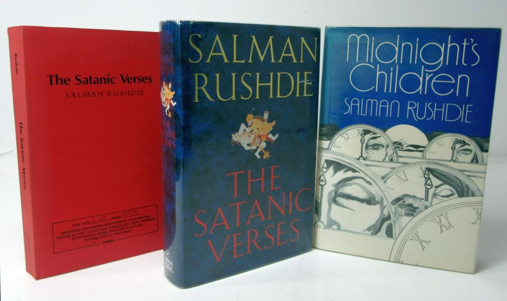 Rushdie, Salman 3 volumes, 2 signed, comprising