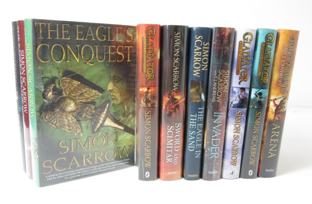 Scarrow, Simon A collection of 24 novels, comprising