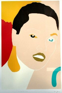 GARY HUME YOUNG WOMAN FROM PORTRAITS 90cm x 61cm