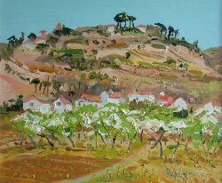 JAMES HARRIGAN PEAR ORCHARD 25cm x 35cm