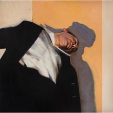 [§] STEPHEN CONROY (SCOTTISH B.1964) THE WHEEL 89cm x 89cm (35in x 35in)