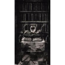 [§] KEN CURRIE (SCOTTISH B.1960) WHITE TERROR II 170cm x 96cm (67in x 37.75in)