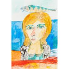 [§] JOHN BELLANY C.B.E., R.A., H.R.S.A. (SCOTTISH 1942-2013) MY LADY OF THE SEA 56cm x 48cm (22in x 19in)
