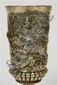 A 19th century German goblet 17.5cm high, 7.8oz