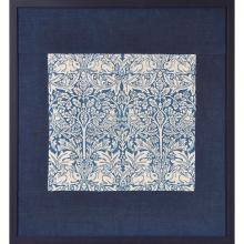 WILLIAM MORRIS (1834-1896) FOR MORRIS & CO. ''BRER RABBIT'' COTTON HANGING, CIRCA 1882 41 x 44cm