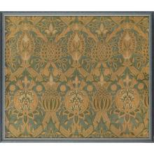 WILLIAM MORRIS (1834-1896) FOR MORRIS & CO. RARE ''GRANADA'' WOVEN SILK BROCADE PANEL, CIRCA 1884 55 x 65cm