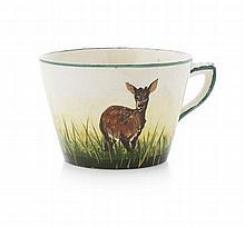 WEMYSS WARE RARE TEA CUP, CIRCA 1900 6.2cm high