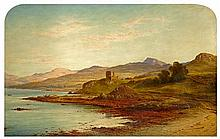 WALLER HUGH PATON R.S.A., R.S.W. (SCOTTISH 1828-1895) SUMMER EVENING, AROS, MULL 81cm x 130cm (32in x 51in)