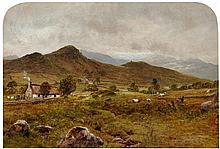 WALLER HUGH PATON R.S.A., R.S.W. (SCOTTISH 1828-1895) DULLATUR 24cm x 35.5cm (9.5in x 14in)