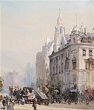 § FRANCIS DODD R.A. (BRITISH 1874-1949) SOUTHAMPTON ROW, LONDON 26cm x 22cm (10.25in x 8.75in)