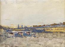 JAMES PATERSON P.R.S.W., R.S.A., R.W.S. (SCOTTISH 1854-1932) NAIRN 24cm x 34cm (9.5in x 13.5in)