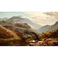 SIDNEY RICHARD PERCY (BRITISH 1821-1886) GLEN FALLOCH, BREADALBANE