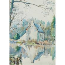 § CHRISTIAN JANE FERGUSSON (SCOTTISH 1876-1957) HOUSE OF THE ABBOT, NEW ABBEY