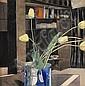 * CHARLES RENNIE MACKINTOSH (SCOTTISH 1868-1928) 'YELLOW TULIPS' 47.5 x 47cm (18¾ x 18½ in)