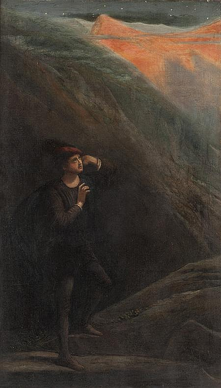 JAMES SMETHAM (BRITISH 1821-1889) THE ROSE OF DAWN 61cm x 35cm (24in x 13.8in)