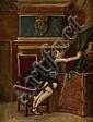 JOHN SEYMOUR LUCAS (BRITISH 1849-1923) YOUR HIDDEN PORTRAIT 61cm x 45cm (24in x 17.75in), John Seymour Lucas, Click for value