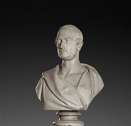 MATTHEW NOBLE (BRITISH, 1817-1876) PRINCE ALBERT 80cm (31.5in) high
