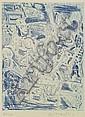 § ADRIAN WISZNIEWSKI (SCOTTISH, B. 1958) SCULPTURE STUDY Sheet size: 66cm x 50cm (26in x 19.75in), Adrian Wiszniewski, Click for value