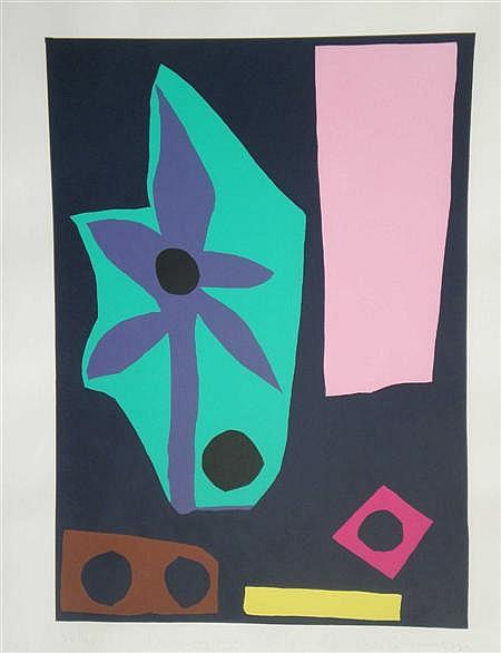 ADRIAN WISZNIEWSKI (SCOTTISH B.1958) NEWLEAFLAND, NORTH ISLAND 59cm x 42cm (23.5in x 16.5cm)