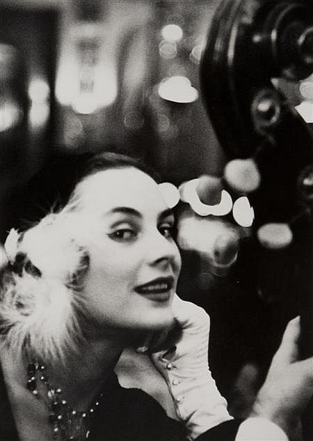 § GEORGE DAMBIER (FRENCH, B. 1925) NELLY DA SILVA RAMOS. NOUVEAU FEMINA,1954 30.5cm x 40.5cm (12in x 16in)
