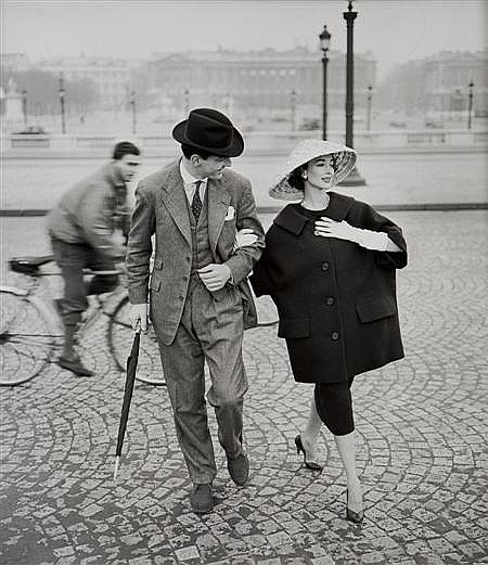 § GEORGE DAMBIER (FRENCH, B. 1925) DORIAN LEIGH. ELLE, 4TH MARCH 1957 40.5cm x 51cm (16in x 20in)