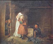 JOHN BURR R.B.A., A.R.W.S. (SCOTTISH 1831-1893) THE GHOST 23cm x 28.5cm (9in x 11.75in)