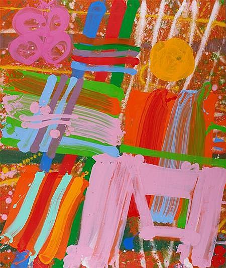 ALBERT IRVIN R.A. (B 1922) PALAZZO, 1996 183cm x 153cm (72in x 60in)