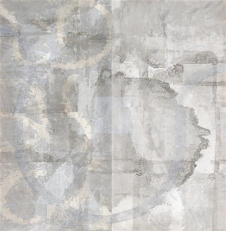 REBECCA SALTER (B. 1955) UNTITLED 76cm x 74cm (30in x 29in)