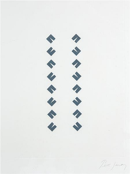 TESS JARAY (B. 1937) CONSTRUCTIONS 27.5cm x 20cm (10.75in x 8in) and another eight by the same hand (9)