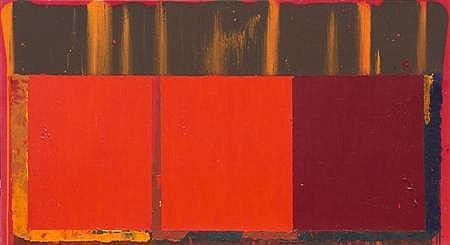 JOHN HOYLAND (B. 1934) 17.7.69 198.1cm x 365.8cm (78.5in x 145in)