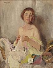 § DAVID JAGGER (BRITISH 1891-1958) SKETCH FOR