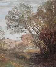 WILLIAM MOUNCEY (SCOTTISH 1852-1901) AUTUMN IN GALLOWAY 60cm x 50cm (23.5in x 19.75in)