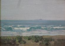 § GEORGE HOUSTON R.S.A., R.S.W. (SCOTTISH 1869-1947) THE DUTCHMAN'S CAP 24cm x 34.5cm (9.5in x 13.5in)