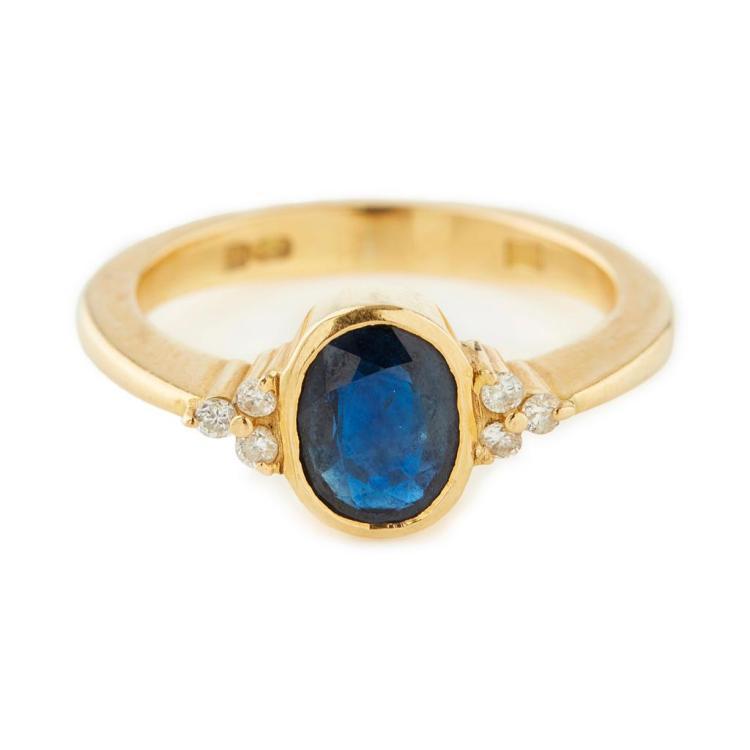 Sapphire And Diamond Ring Edinburgh