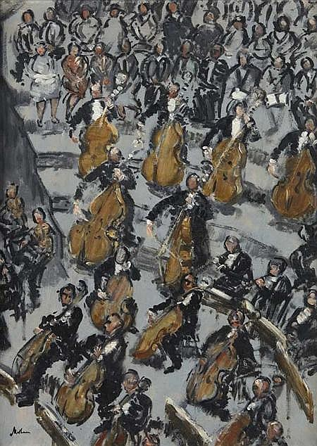 LORD METHUEN (1886-1974) THE LONDON SYMPHONY ORCHESTRA, 1936 51cm x 38cm (20in x 15in)
