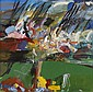 DUNCAN SHANKS R.S.A., R.S.W (B.1937) THE VALLEY 70cm x 72cm (27.5in x 28.5in), Duncan Shanks, Click for value