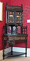 A 19th century ebonised and gilded corner cabinet, circa 1873 By Gillows of Lancaster, the design attributed to Bruce J Talbert (183..., Bruce J Talbert, Click for value