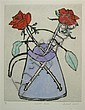 § RICHARD SPARE (BRITISH B. 1951) SCARLET ROSES Plate size: 50cm x 40cm (19.75in x 15.75in), Richard  Spare, Click for value