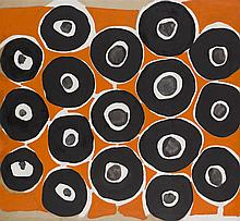 § ANTHONY BENJAMIN (BRITISH 1932-2002) PICCOLOMINI 130cm x 141cm (51in x 55.5in)