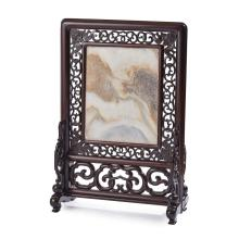 DREAMSTONE INLAID HARDWOOD SCREEN 65cm high