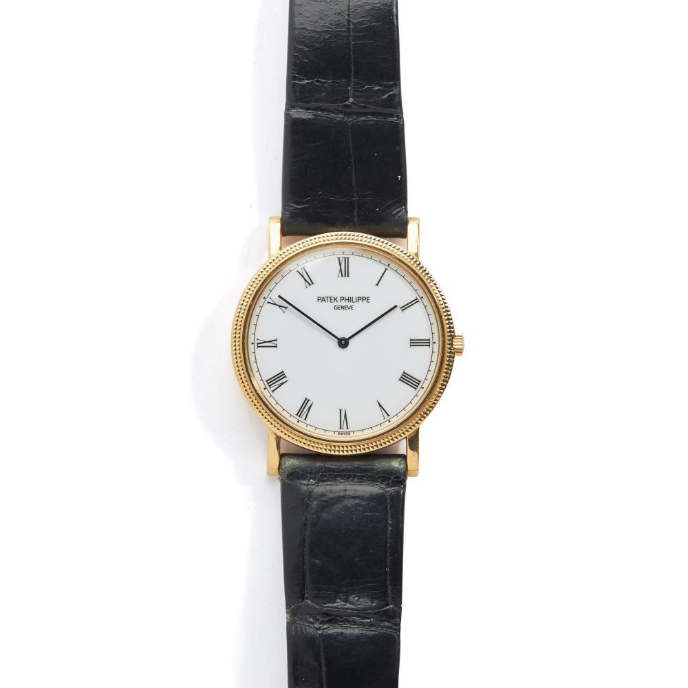 Patek Philippe: a Calatrava wrist watch