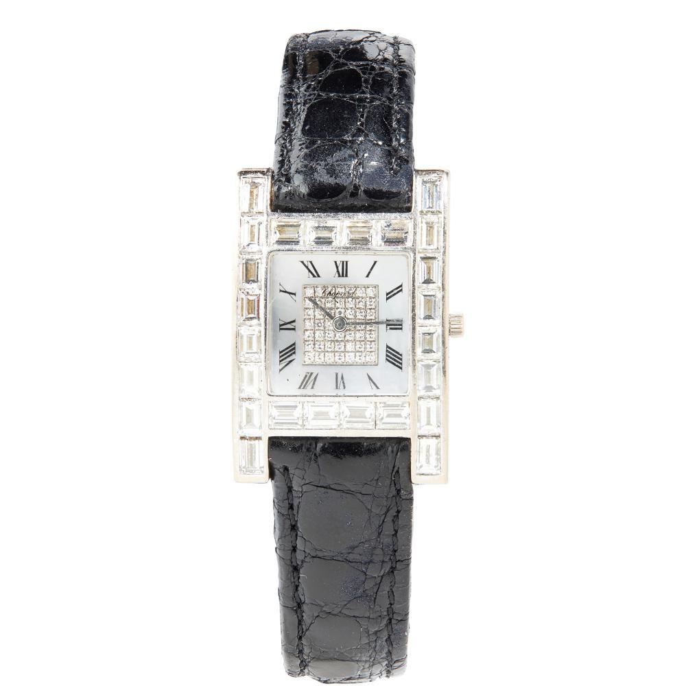 Chopard: a diamond set watch