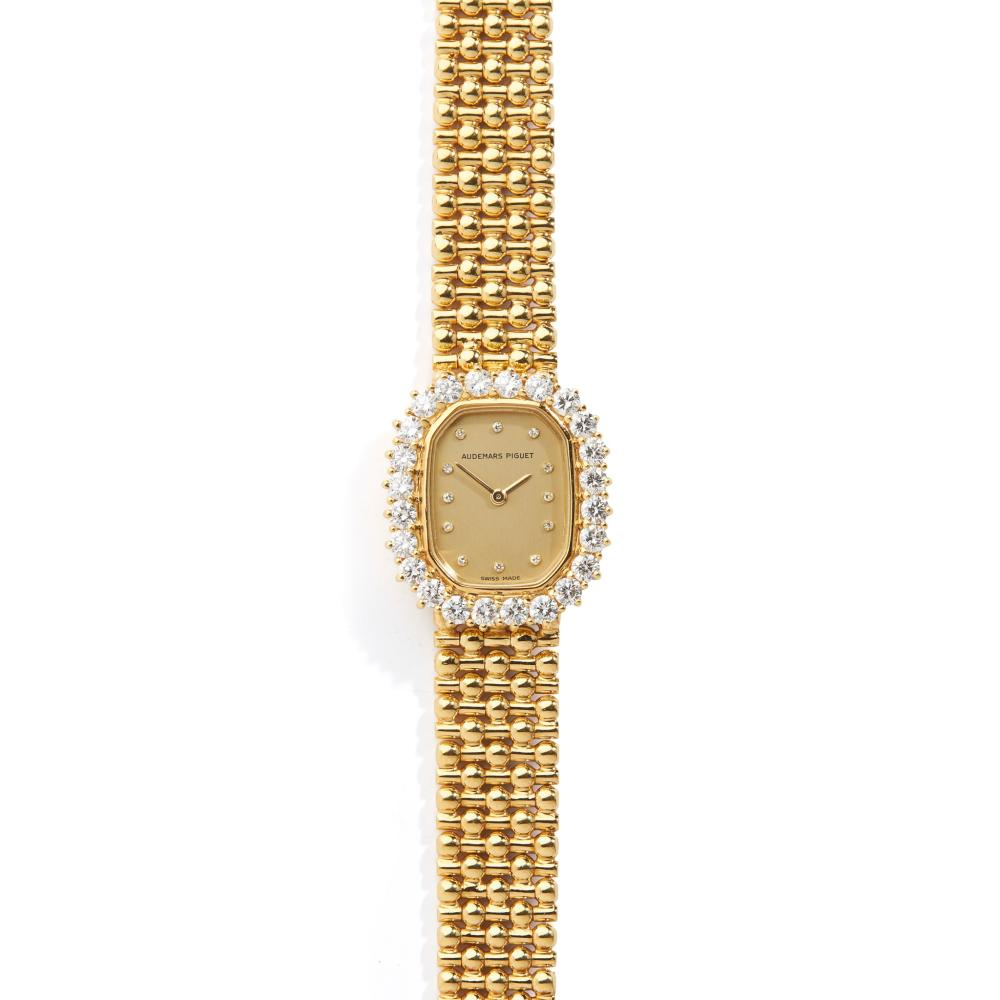 Audemars Piguet: a diamond set watch