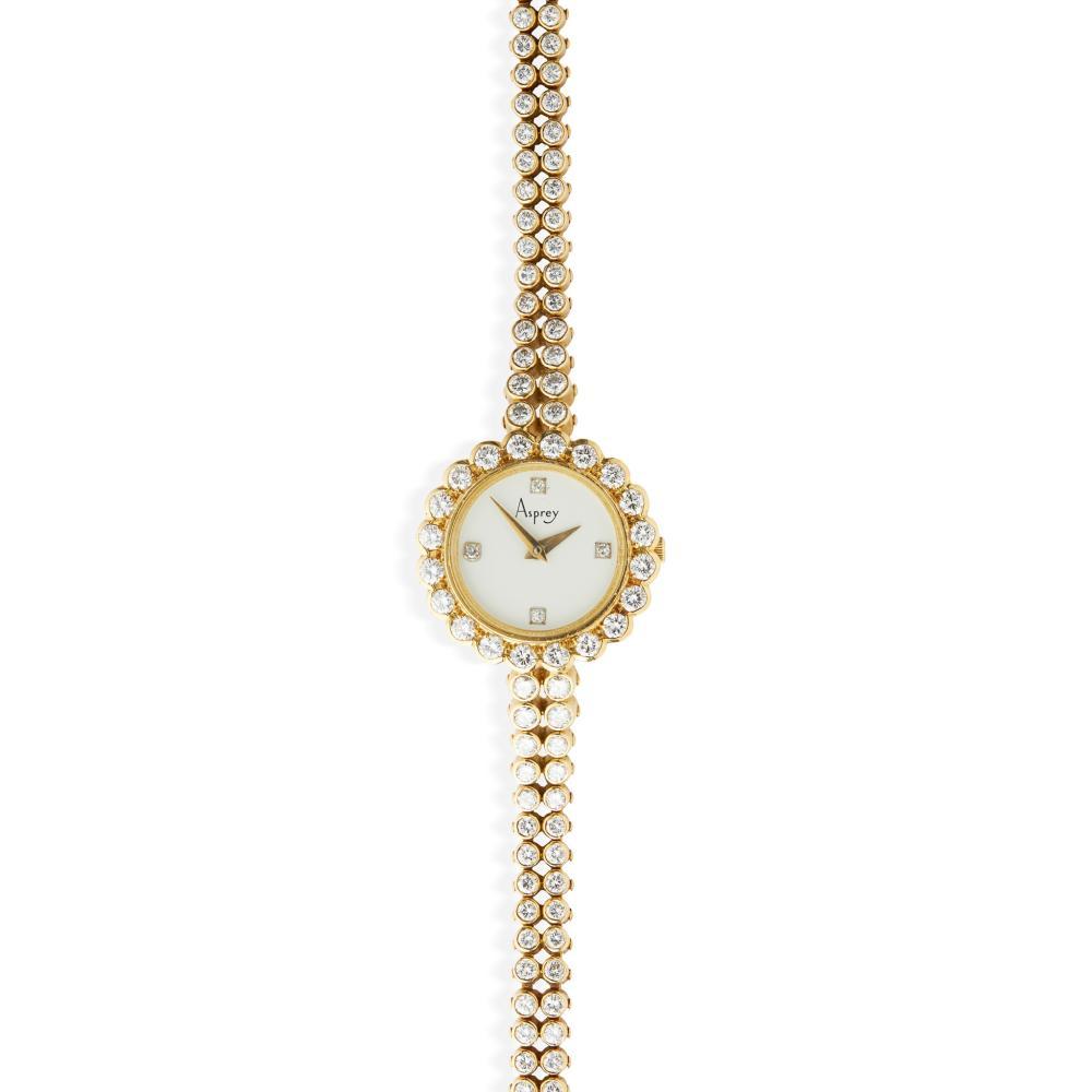 Asprey: a diamond-set watch