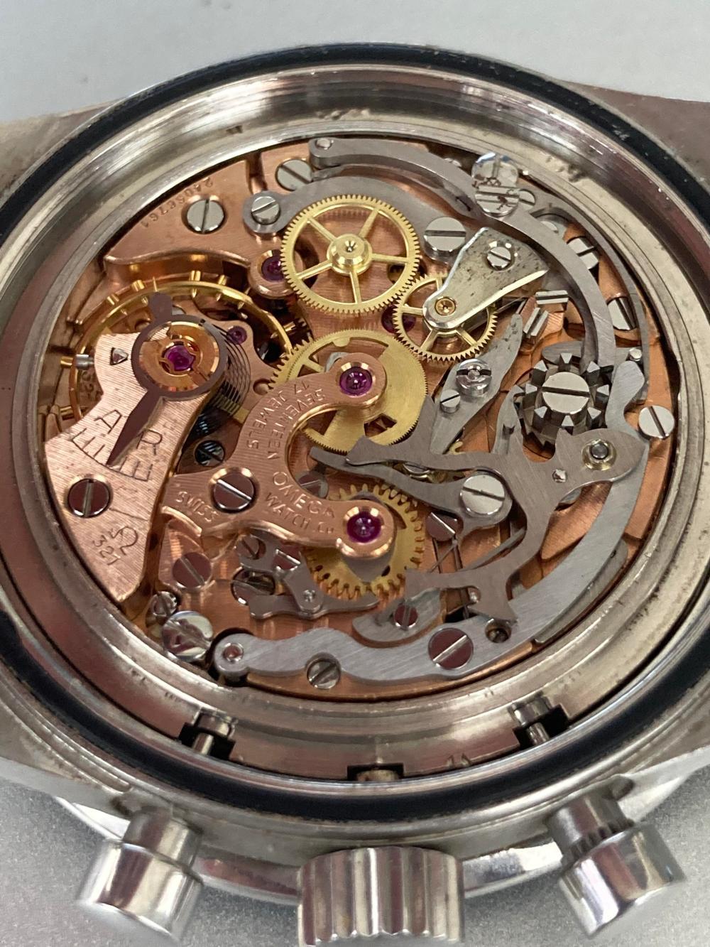 Omega: a pre-moon steel wrist watch