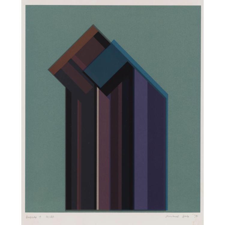 § MICHAEL HALE (BRITISH B. 1932) BALLADE 1 69.5cm x 57cm (27.5in x 22.25in)