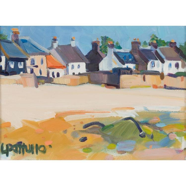 § LIN PATTULLO (SCOTTISH CONTEMPORARY) ELIE 11.5cm x 16.5cm (4.5in x 6.25in)