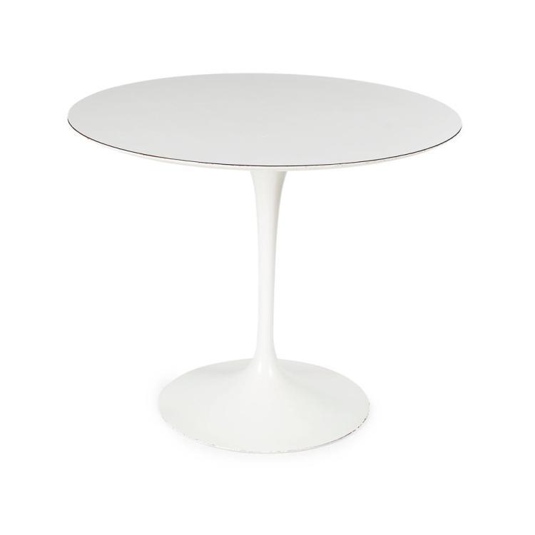 AFTER EERO SAARINEN 'TULIP' PEDESTAL TABLE, DESIGNED 1955 90cm diameter, 72cm high