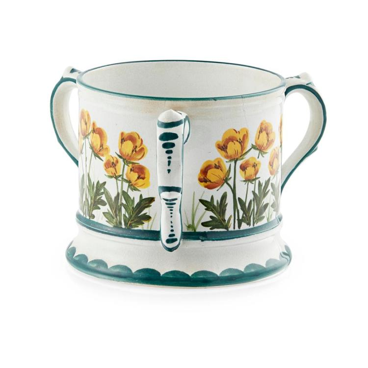 WEMYSS WARE SMALL ''BUTTERCUPS'' LOVING CUP, CIRCA 1900 10cm high